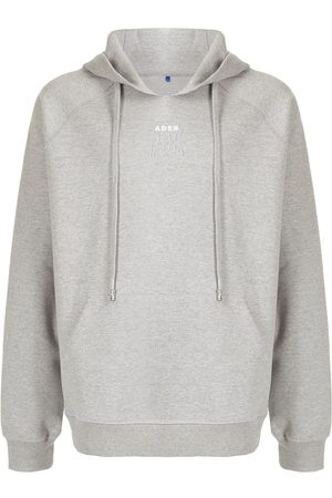 Ader Error Men Hoodies - Logo-embroidered hoodie