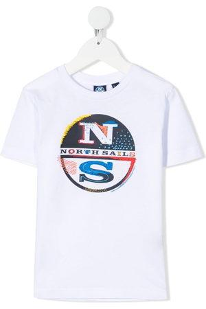 North Sails Kids Logo-print short-sleeved T-shirt