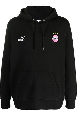 PUMA Men Hoodies - Logo-printed hoodie