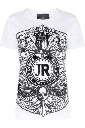 John Richmond Women Short Sleeve - Graphic-print cotton T-shirt
