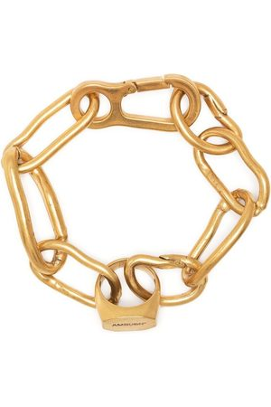 AMBUSH Ring-charm chain-link bracelet