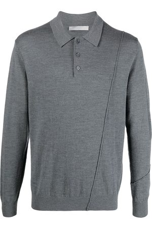 A-cold-wall* Men Long Sleeve - Long-sleeve polo-collar jumper