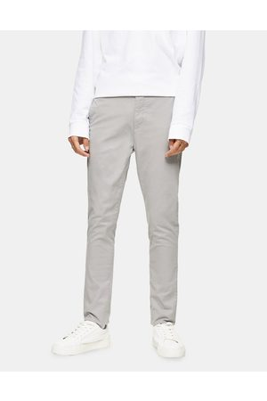 Topman Stretch skinny chinos in light