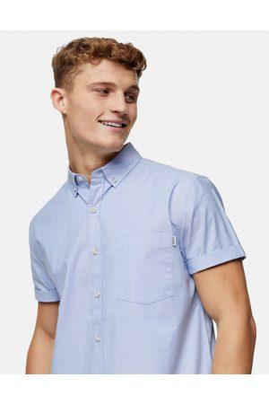 Topman Slim oxford shirt in light