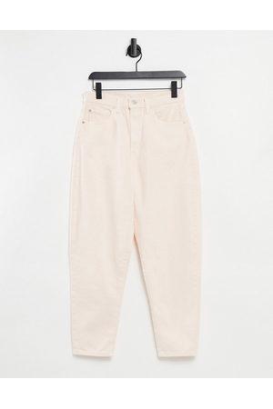 Levi's Levi's high loose tapered leg jeans in ecru