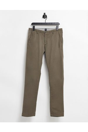 HUGO BOSS Business Rice3-D slim fit chinos