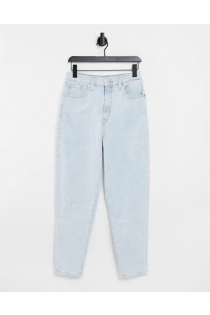 Levi's Women High Waisted - Levi's high waist tapered jeans in bleach wash