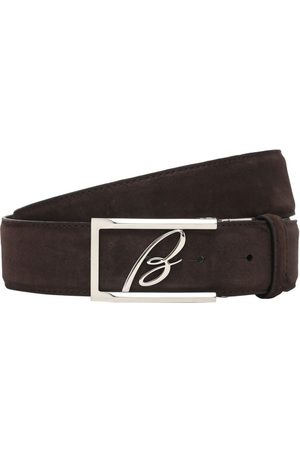 BRIONI Men Belts - 3.5cm New Elty Leather Belt