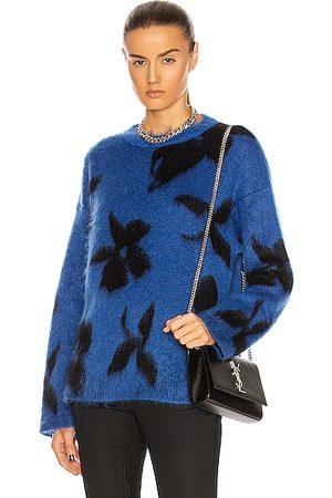 Saint Laurent Ninetys Sweater in & Noir
