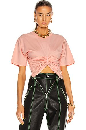 Y / PROJECT Ruched Corset T-Shirt in