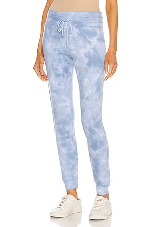 Beyond Yoga Garment Dye Lounge Around Midi Jogger in Dream & Cloud Dye