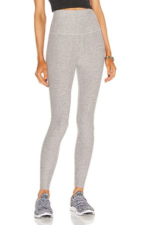 Beyond Yoga Spacedye Caught In The Midi High Waisted Legging in Mist