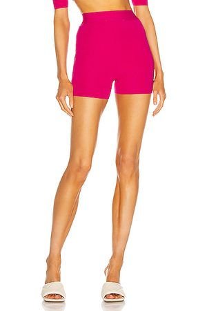 Maya Denim Jogger Shorts Light Colourway