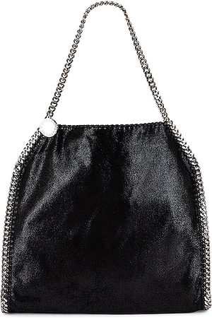 Stella McCartney Small Falabella Shaggy Deer Tote in
