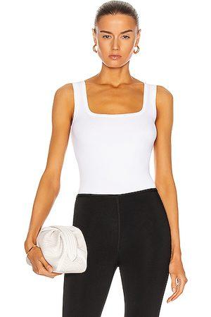 Alaïa Sleeveless Bodysuit in Blanc