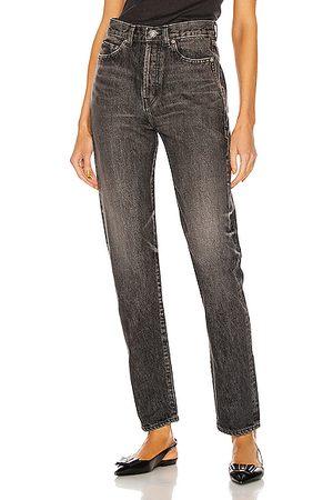 Saint Laurent Slim Fit Jean in Dirty Medium