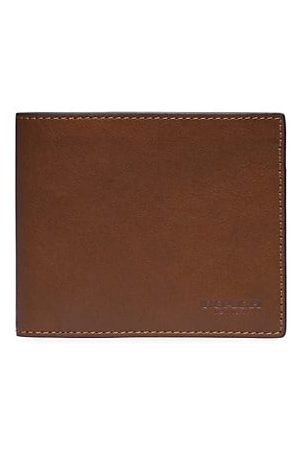 Coach Men Wallets - 3-In-1 Leather Billfold Wallet