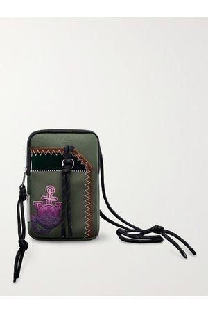 Moncler Genius Men Wallets - 1 Moncler JW Anderson Logo-Appliquéd Canvas Phone Pouch with Lanyard