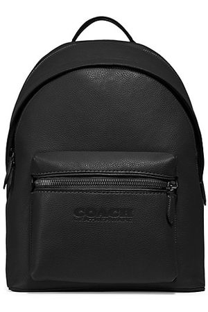 Coach Men Rucksacks - Charter Refined Pebbled Leather Backpack