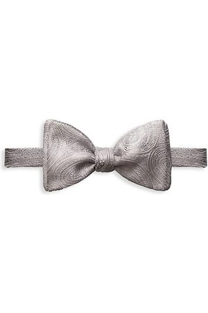 Eton Men Bow Ties - Paisley Silk Bow Tie