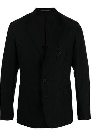 YOHJI YAMAMOTO Men Blazers - Panelled stitch blazer