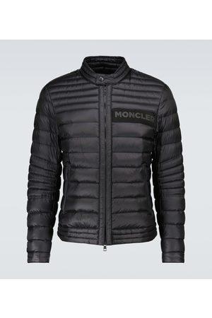 Moncler Men Jackets - Conques padded biker jacket