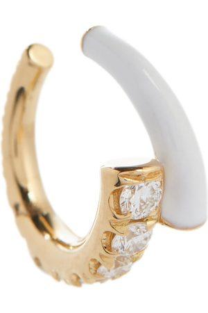 Melissa Kaye Women Earrings - Lola 18kt ear cuff with diamonds