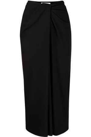 VALENTINO Twist-detail pencil skirt