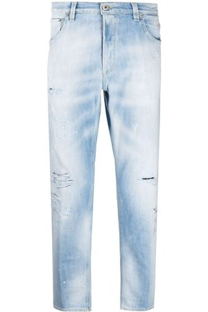 Dondup Men Straight - Mid-rise distressed jeans