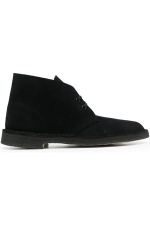 Clarks Men Footwear - Suede lace-up shoes