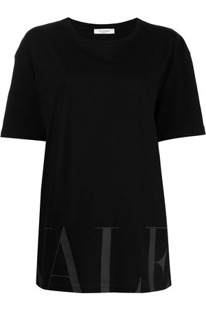VALENTINO Men Short Sleeve - VLOGO cotton T-shirt