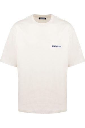 Balenciaga Men Short Sleeve - Medium Fit logo T-shirt