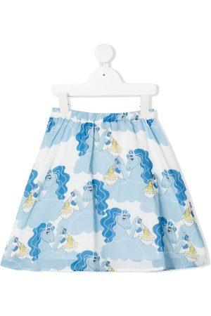 Mini Rodini Unicorn Noodles print skirt