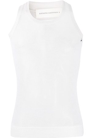 EXTREME CASHMERE Cashmere tank top