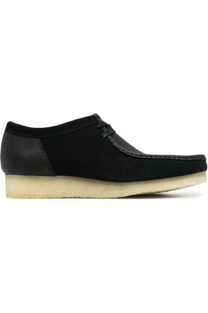 Clarks Men Loafers - Wallabee lace-up suede shoes