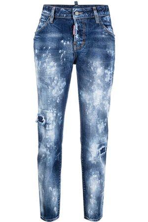 Dsquared2 Girls Skinny - Cool Girl paint-job jeans