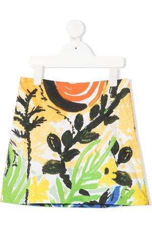 Marni Girls Printed Skirts - All-over print skirt