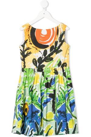 Marni Girls Printed Dresses - All-over print dress