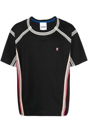 KOCHÉ Lace-trimmed T-shirt