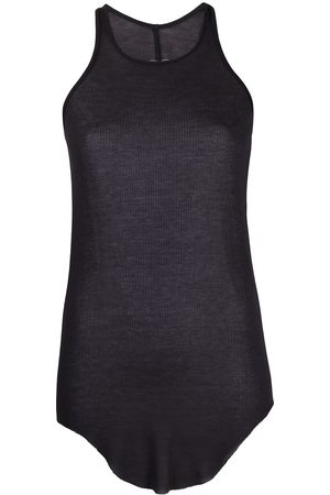 Rick Owens Women Tank Tops - Curved hem tank top