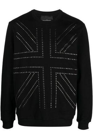 John Richmond Men Sweatshirts - Studded cotton sweatshirt