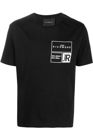 John Richmond Men Short Sleeve - Logo print T-shirt