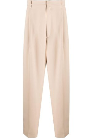 AMBUSH Men Formal Trousers - LOOSE FIT SUIT PANTS SESAME