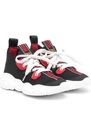 Moschino Boys Sneakers - Logo-print sneakers