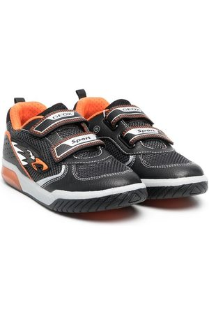 Geox Two-tone touch-strap trainers