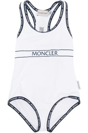 Moncler Logo-print swim suit
