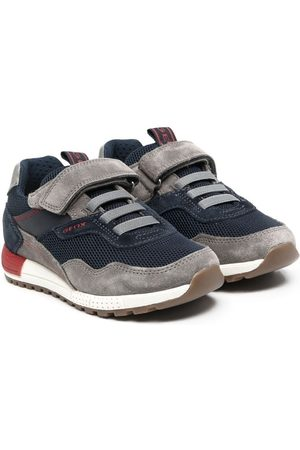 Geox Low-top panelled sneakers
