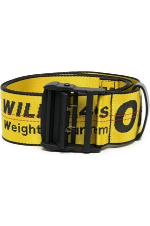 OFF-WHITE Men Belts - Logo Industrial belt