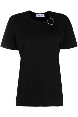 ACT N°1 Women Short Sleeve - Carabiner-detailed cotton t-shirt