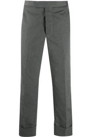 Thom Browne Men Formal Trousers - Cropped tailored trousers